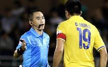 Treo còi trọng tài Mai Xuân Hùng 3 trận do bắt sai