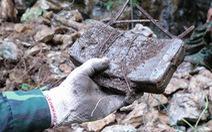 Tìm máu xương đồng đội ở chiến địa Vị Xuyên - Kỳ 1: Xương anh lẫn trong đá, mìn