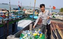 Biến rác biển thành... học bổng
