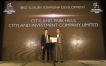 CityLand Park Hills được vinh danh 'Dự án khu đô thị cao cấp tốt nhất Việt Nam'