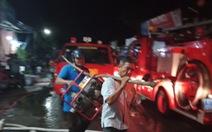 Gần 3 giờ mới dập được cháy ở công ty xay xát lúa gạo