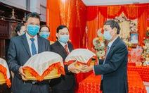 Đám cưới ở Quảng Ngãi, hai họ cùng đeo khẩu trang, không mời tiệc
