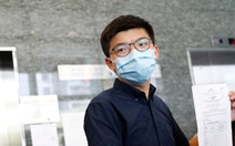 Joshua Wong nằm trong 12 ứng viên bị Hong Kong tước tranh cử vào cơ quan lập pháp