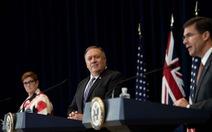Leo thang căng thẳng với Trung Quốc, Mỹ và Úc tăng cường hợp tác quân sự