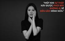 Hoa hậu Khánh Vân phản đối quấy rối tình dục qua 'Break the silence'