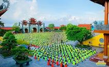 Chùa Ba Vàng kết thúc sớm khóa tu mùa hè của 3.000 khóa sinh