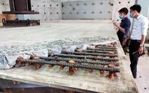 Thử nghiệm sửa 120m mặt cầu Thăng Long