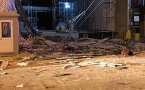 Công nhân bị thương trong vụ sập giàn cẩu ở Hà Nội đã tử vong