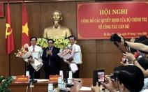 Bí thư Tỉnh ủy Bà Rịa - Vũng Tàu giữ chức phó trưởng Ban Dân vận trung ương