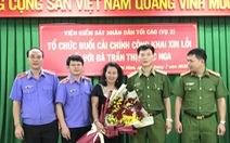 Viện KSND tối cao xin lỗi vì gây oan sai cho luật gia Trần Thị Ngọc Nga