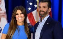 Bạn gái của con trai cả ông Trump dương tính với virus corona