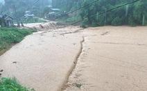 Mưa lớn làm hồ chứa 60.000m3 sạt lở chân đập, Lào Cai chuẩn bị ứng phó