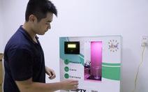 Máy phân loại rác tự động 'made by' sinh viên