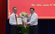 Bí thư tỉnh ủy Hậu Giang Lữ Văn Hùng làm bí thư Bạc Liêu