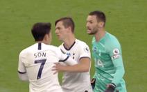 Son Heung Min, Hugo Lloris suýt 'choảng' nhau trong trận Tottenham thắng Everton