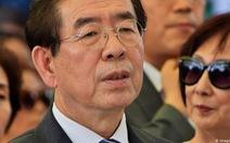 Thị trưởng Seoul biến mất, 'để lại lời nhắn như di chúc'