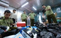 Kho hàng lậu khủng tại Lào Cai: Thu tiền tỉ từ hàng nhái, hàng lậu