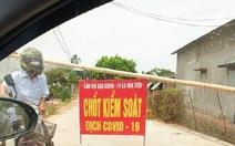 Phong tỏa một thôn ở Thái Bình vì có người dương tính lần 1 với COVID-19