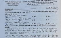Mời bạn đọc xem đề tiếng Nhật kỳ thi tốt nghiệp THPT 2020