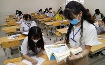 Sáng nay 10-8, thí sinh thi bài thi khoa học tự nhiên và khoa học xã hội