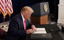 Ông Trump và quốc hội chia rẽ về gói cứu trợ