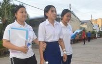 Mổ ruột thừa được 2 ngày, thí sinh Khmer quyết không bỏ lỡ kỳ thi