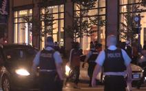 Bạo động ở Chicago, bên đụng độ cảnh sát, bên đập phá hôi của cửa hàng