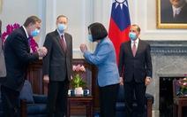 Bộ trưởng Mỹ gặp bà Thái Anh Văn: 'Mỹ ủng hộ mạnh mẽ người bạn Đài Loan'