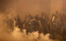 Cảnh sát Lebanon bắn hơi cay giải tán biểu tình