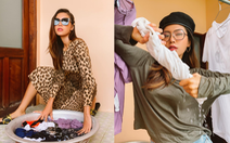 Người mẫu Minh Tú lạc quan làm cả bộ ảnh trải nghiệm cách ly ở Trà Vinh