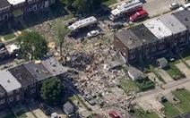 Nhiều ngôi nhà ở Baltimore, Mỹ bị san phẳng sau tiếng nổ lớn