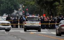 Vụ nổ súng bên ngoài Nhà Trắng: mật vụ và nghi can đều bị thương