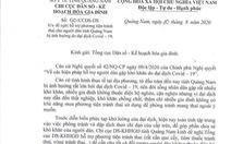 Quảng Nam yêu cầu thu hồi công văn xin thuốc, vòng tránh thai
