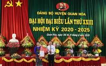 Thanh Hóa có bí thư Huyện ủy trẻ nhất tỉnh, nữ 39 tuổi người dân tộc Thái