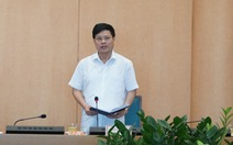 Phó chủ tịch Hà Nội Ngô Văn Quý thay ông Nguyễn Đức Chung điều hành chống COVID-19