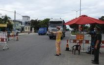 Hỗ trợ người hoàn thành cách ly rời Đà Nẵng về địa phương