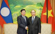 Thủ tướng Lào dự lễ tang nguyên Tổng bí thư Lê Khả Phiêu