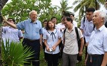 GS Trần Thanh Vân: Nếu cứ kéo dài nhùng nhằng thì không thể an tâm làm khoa học tại quê hương