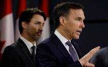 Canada thâm hụt ngân sách 250 tỉ USD, bộ trưởng tài chính từ chức