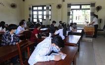 Vì sao giáo viên sống ở Hội An, chăm vợ ở Bệnh viện Đà Nẵng lại được cử coi thi?