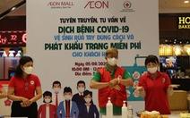 AEON Việt Nam nỗ lực phòng dịch để đem đến môi trường mua sắm an toàn