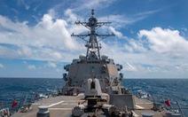 Trung Quốc chỉ trích tàu Mỹ đi qua eo biển Đài Loan là 'cực kỳ nguy hiểm'