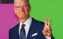 Apple là công ty đầu tiên của Mỹ đạt giá trị thị trường 2 ngàn tỉ USD