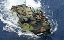 Thiết giáp lội nước Mỹ chìm trên biển, 8 lính thủy đánh bộ thiệt mạng