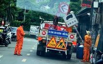 Vụ 'bít' đường vào kho hàng Tân Sơn Nhất: Đã gỡ biển báo hạn chế xe tải