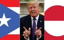Rộ tin Tổng thống Trump muốn đổi Puerto Rico lấy Greenland
