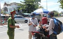 Quảng Ngãi đón 700 người từ Đà Nẵng về sáng 22-8