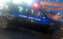 Bắt thanh niên 'ngáo đá' trộm ôtô tông vào xe cảnh sát khi bị truy đuổi