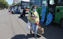 Hơn 700 người Quảng Ngãi kẹt ở Đà Nẵng vì COVID-19 đã được về quê