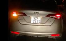 Truy tìm chủ ôtô ngang nhiên chạy vòng quanh phố cổ Hội An